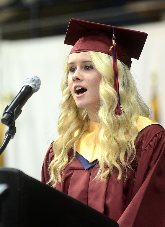Description of . Cardinal O'Hara High School held its 2014 commencement exercises on Wednesday, June 4 at Villanova University. (Times staff / JULIA WILKINSON)